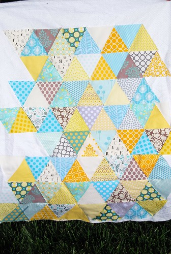 Bringing baby home quilt WIP