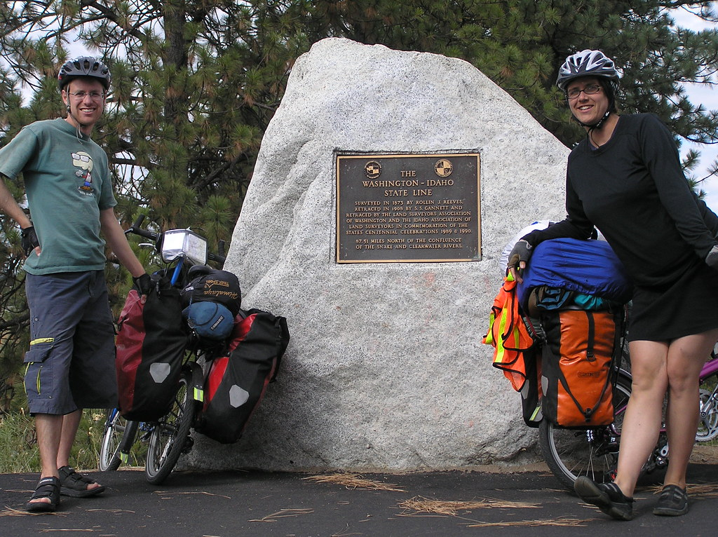 Over 500 miles to Idaho by Bike. Sept - Oct 2007