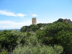La tour d'Ulmetu à la Punta di Caniscione