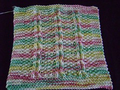 Bardishcloth (BETSY023) Tags: knitting dishcloth cotton kal