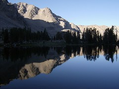 25 Born Lake (philthy54) Tags: cloud white mountains fishing hiking idaho