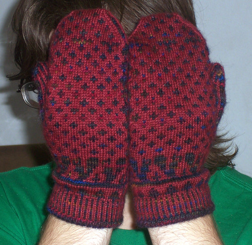 Backs of Mittens