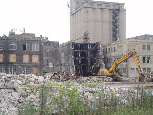 Building 11 demoltion