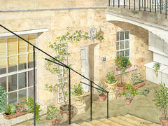 Courtyard Flat, Bath