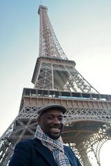 Self Portrait with Eiffel Tower