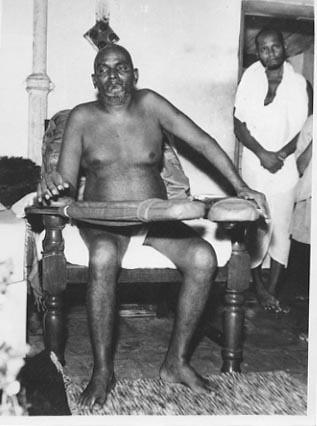 Bhagavan Nityananda and Swami Muktananda