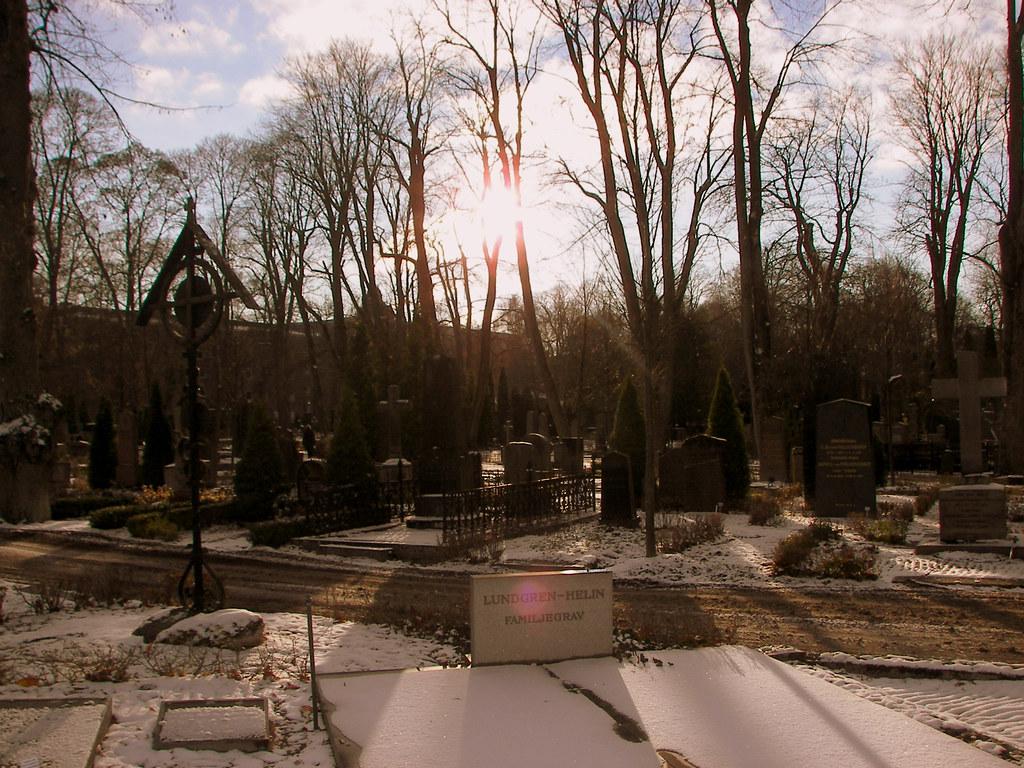 Uppsala Graveyard