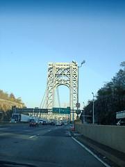 George Washington Bridge to NYC (Anile P) Tags: newyorkcity georgewashingtonbridge nyroadtrip2007