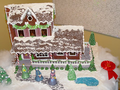 Professional - 2nd place (Conner Prairie) Tags: candy icing gingerbreadhouse connerprairie gingerbreadcompetition gingerbreadvillage