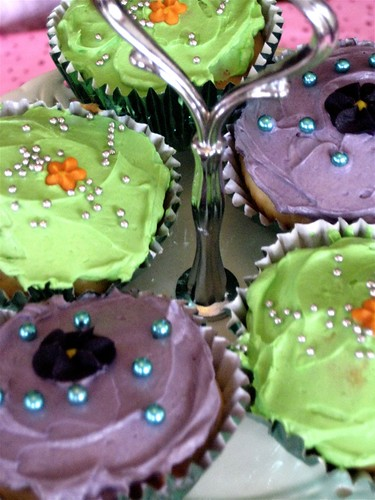 Cupcakes for Daphne's party