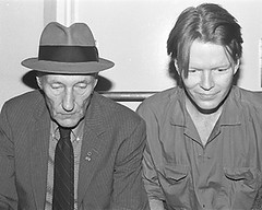 Jim Carroll and William S. Burroughs (jude.blue) Tags: beat jimcarroll williamburroughs