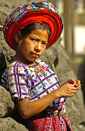 Girl from Santiago Atitlan
