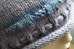 FO: Gloria's Hat - band detail