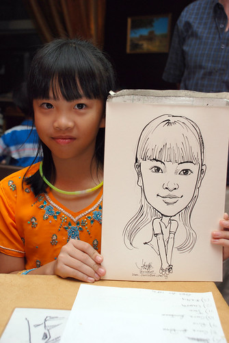 Caricature bithday party 311207 6