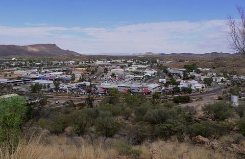 Alice Springs por Trevor Hart.