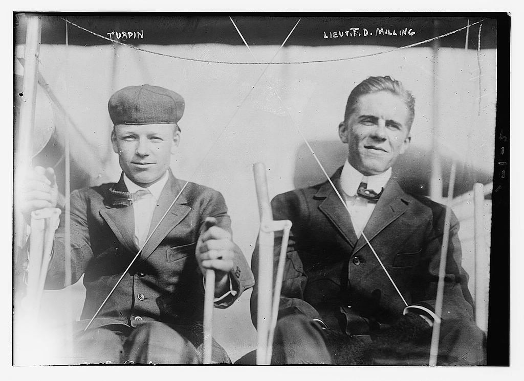 Turpin & Lt. T.D. Milling.
