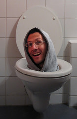 The WC, my primary inspiration source... (Giuseppe Bognanni) Tags: portrait photoshop bathroom funny toilet wc lustig bagno trainspotting divertente cesso badezimmer watercloset novideo fotoritocco gabinetto supershot disc0stu giuseppebognanni