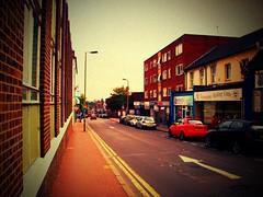 Victoria Road, Aldershot (Secret Pilgrim) Tags: england geotagged lomo postcard hampshire victoriaroad aldershot faved dumpr rushmoor