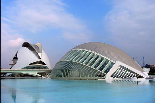 Ciutat de los artes, Valencia