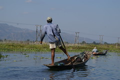 Myanmar: Inlesee (patrikmloeff) Tags: world travel lake holiday boot see boat reisen holidays asia asie