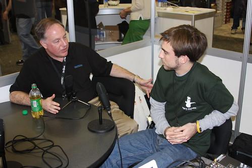 Paul Kafasis and Chuck Joiner of MacVoices