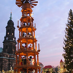 Christmas Pyramid in Dresden