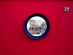 Schöne Aussichten.... (Wischhusenpixel) Tags: window deutschland restaurant view fenster inspire portofino bremerhaven hipbotunsquare mywinners aplusphoto tornadoaward top30red connywischhusen rotrossoredrood