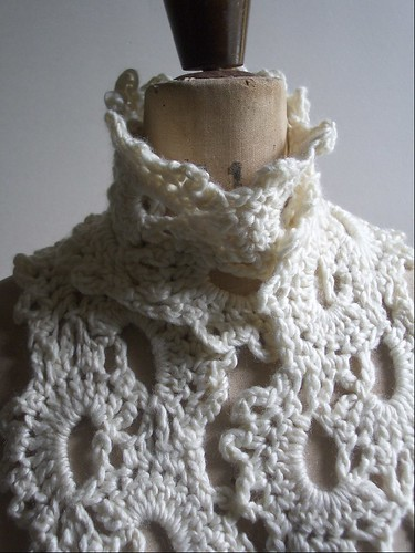 The City of Crochet: The Sideways Lace Scarf Pattern