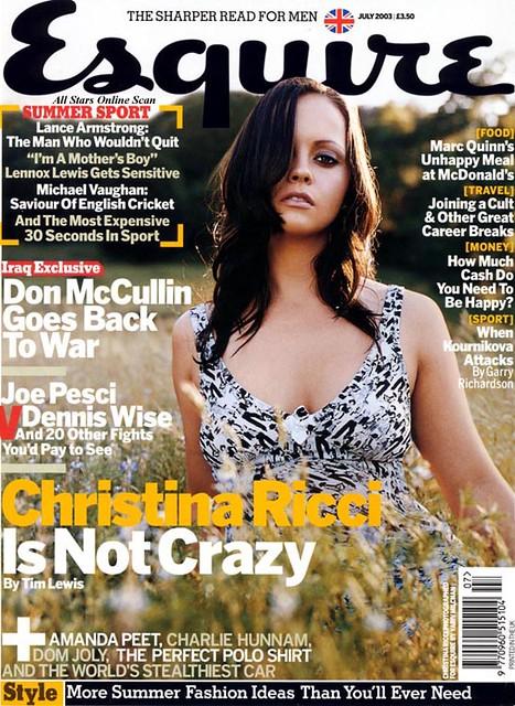 Christina Ricci UK Esquire
