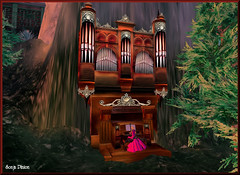 Wonderful Organ (sonja_pinion) Tags: bach organ secondlife windlight mystica sonjapinion toccataandfugue