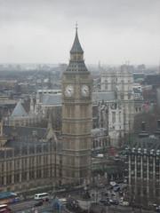 Big Ben and Westminster Abbey (Bolckow) Tags: london clock housesofparliament londoneye bigben unescoworldheritagesite britishairwayslondoneye