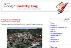 Google SketchUp Blog