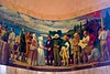 Dr. McLoughlin And The Women - a mural in the rotunda at the Oregon State Capitol Building in Salem Oregon