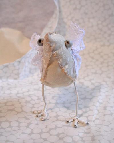 little white bird