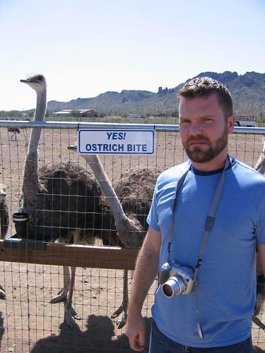 Yes! Ostrich Bite