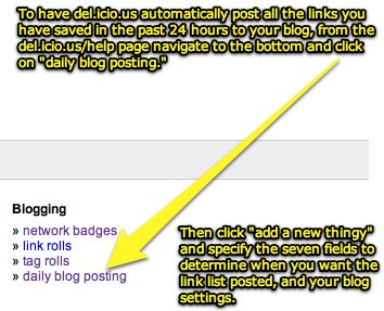 How to auto-post social bookmarks