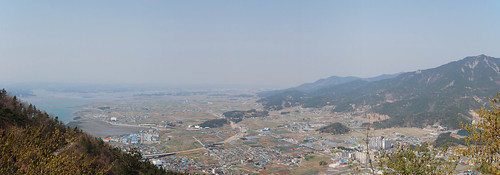 View towards Sacheon