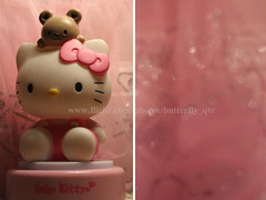 Hello Kitty (  utterfly  ) Tags: hello bear pink butterfly bokeh kitty houston 2008 qatar  q6r