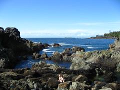 sunny afternoon (randomidea) Tags: canada tofino hotspring ocean onsen