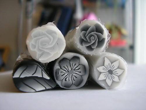 Black & White Canes