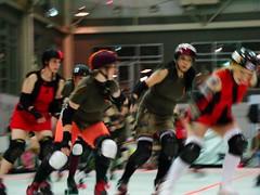 SR vs Mods (Holly Baranowski) Tags: may roller 2008 derby charmcityrollergirls ccrg mobtownmods nightterrors speedregime junkyarddolls