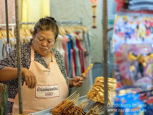 Street food at Hua Hin night market