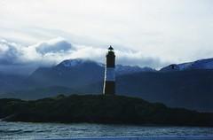 "A lonely bird by El Faro ""Les Eclaireurs"" (wallygrom) Tags: lighthouse bird southamerica argentina faro tierradelfuego ushuaia seabird beaglechannel findelmundo leseclaireurs faroleseclaireurs"