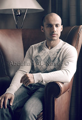 (Abdullah AL-Naser) Tags: lighting portrait sun canada man face leather vancouver pose hotel model chair republic arm natural masculine britishcolumbia style banana kuwait elegant armchair ef advertisment kuwaiti nasser stylish fasion abdullah abraj  2470mm   f28l abraaj     alnasser  alnaser