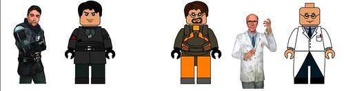 More Lego Half-Life Concept
