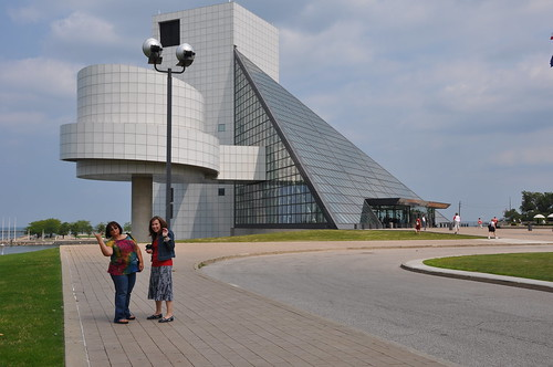 Devra and Alison by Rock Hall