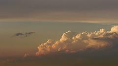 DSC_3199 - clouds from below (webber0075) Tags: blue sky usa white yellow clouds colorado dusk adamscounty d300