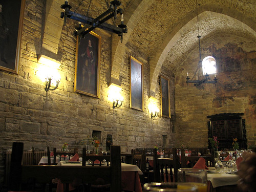 dining room at Roda de Isabena