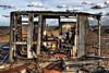 Dis-Repair (lowbattery) Tags: uk beach sussex engine hut dungeness marsh hdr romney romneymarsh singleraw