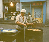 Hui food vendor, Xian, China